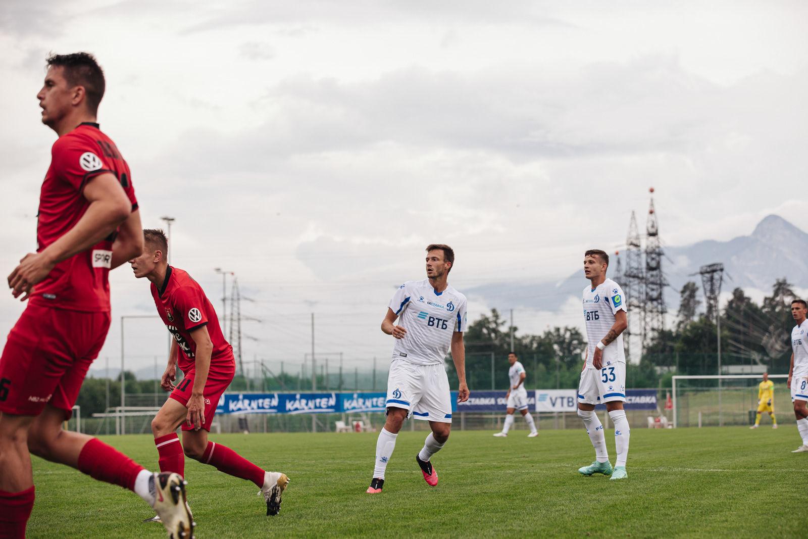 Фоторепортаж с контрольной игры против венгерского «Будафоки МТЕ»