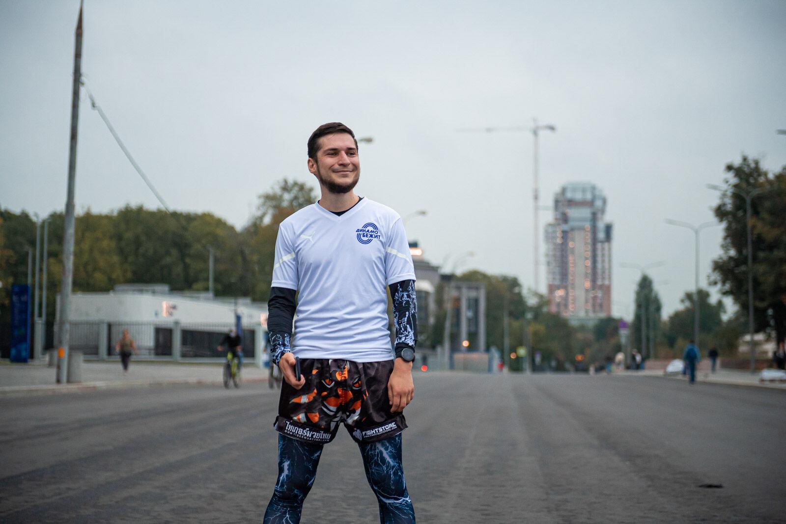 Первое занятие бегового клуба «Динамо Бежит»