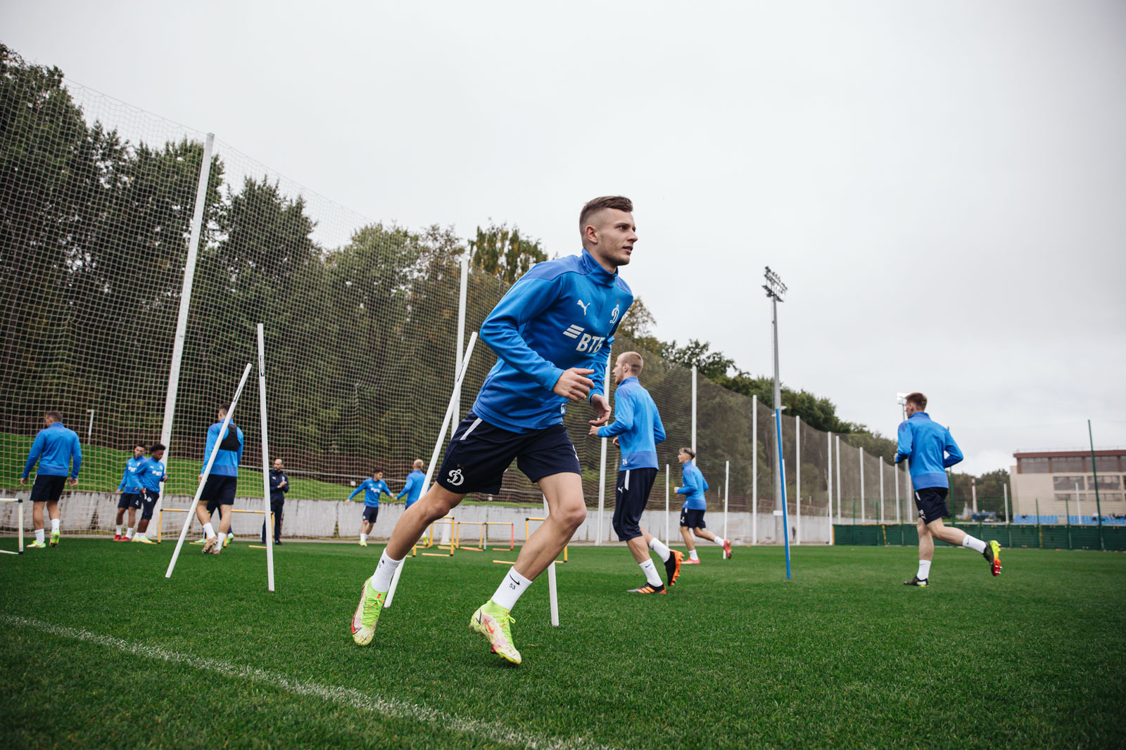 Training session on the eve of the match against Nizhny Novgorod