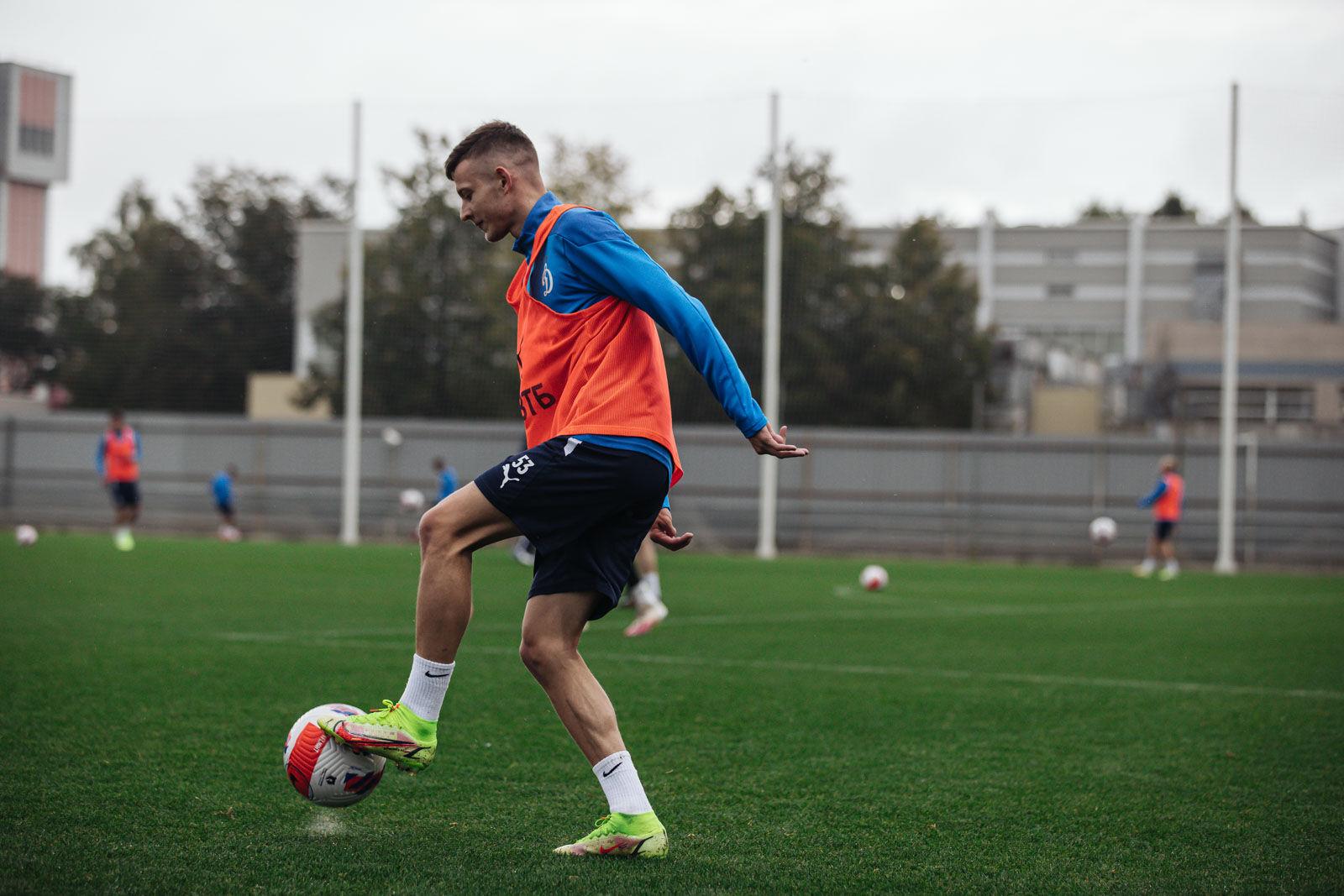 Тренировка перед матчем с «Нижним Новгородом»