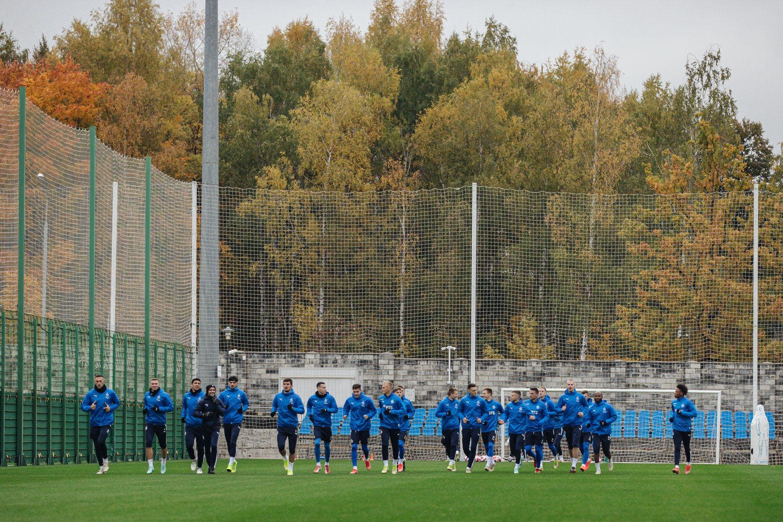 Training session on the eve of the match against Krylia Sovetov