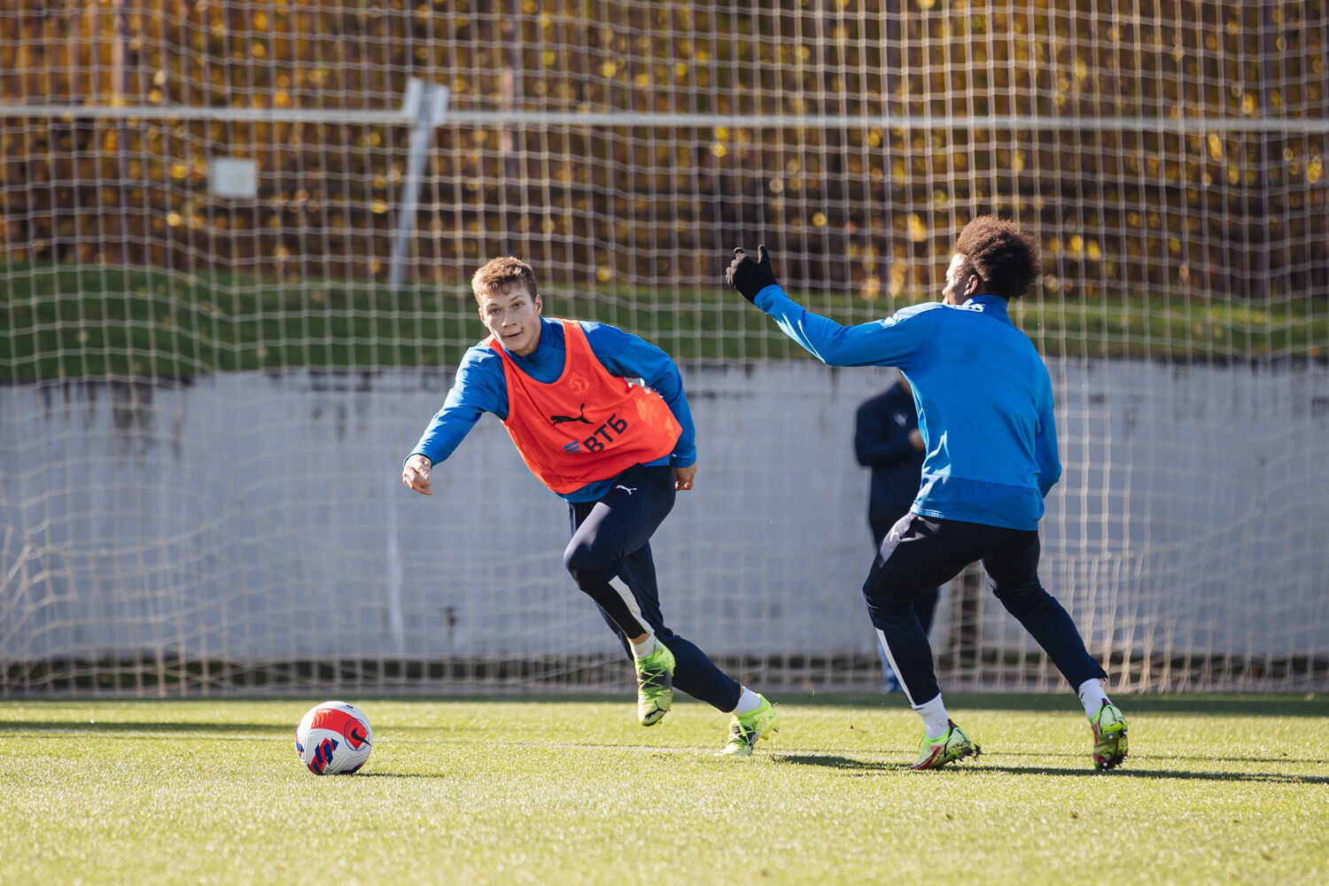 Photo gallery from the Dynamo vs Dynamo-2 warm-up match