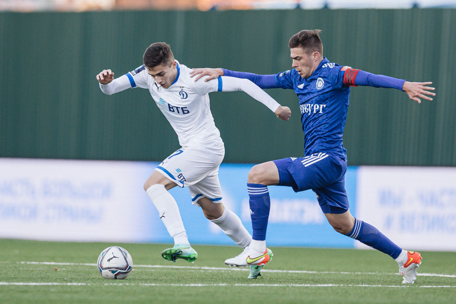 Photo gallery from the match against Orenburg