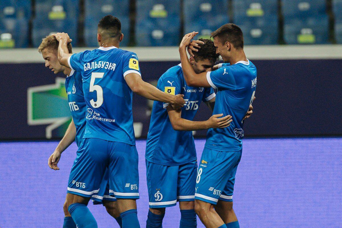 Голы Захаряна и Тюкавина принесли «Динамо» победу в матче с «Ростовом»
