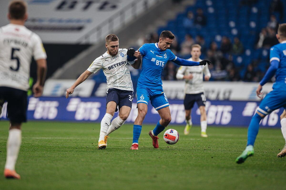 Dynamo lose to Krylia Sovetov in home fixture