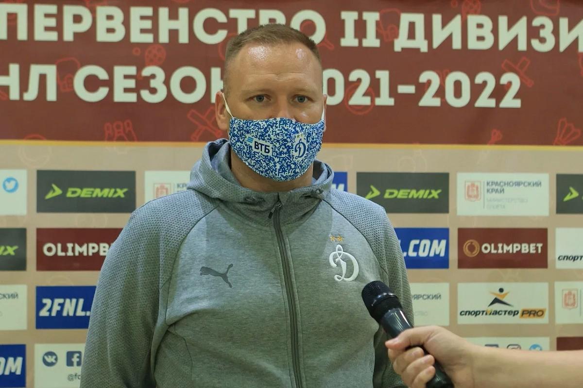 """Виталий Гришин: «В матче с """"Енисеем-2"""" игра решилась во втором тайме»"""