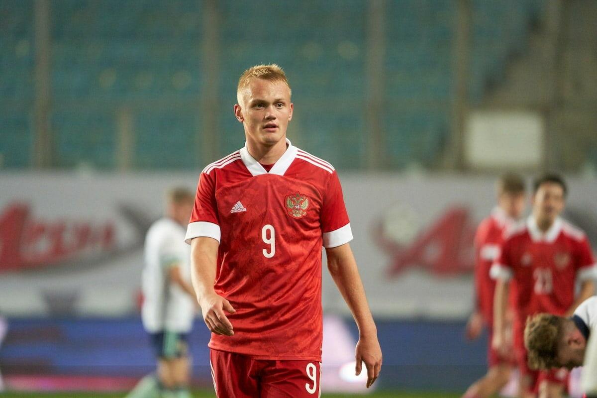 Tyukavin's brace brings Russia U21 big win over Lithuania U21