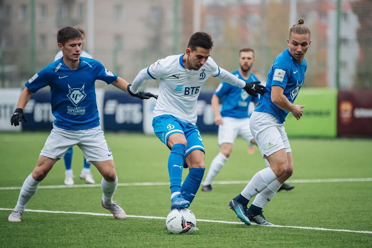 Футболисты «Динамо-2» сыграли вничью с «Чертаново»