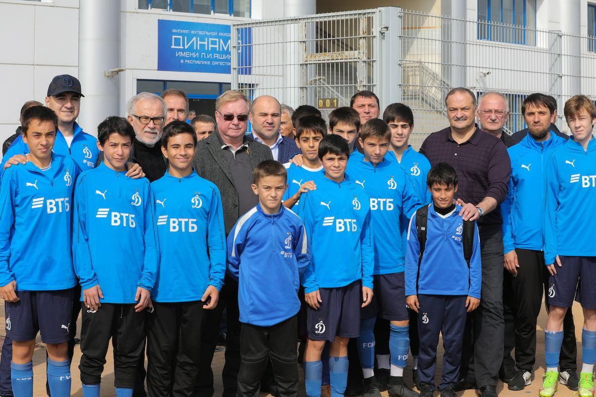 Глава Дагестана Сергей Меликов и Сергей Степашин посетили филиал академии «Динамо» в Махачкале