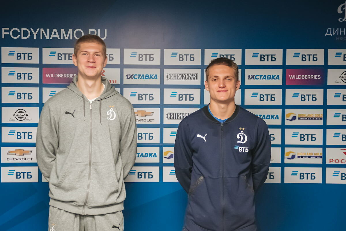 Stanislav Bessmertny and Denis Davydov signed contracts with Dynamo