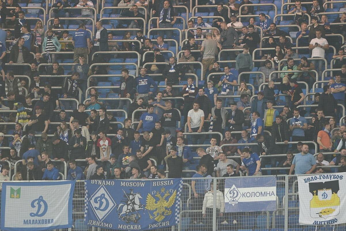 Схема прохода болельщиков «Динамо» на матч с «Зенитом»