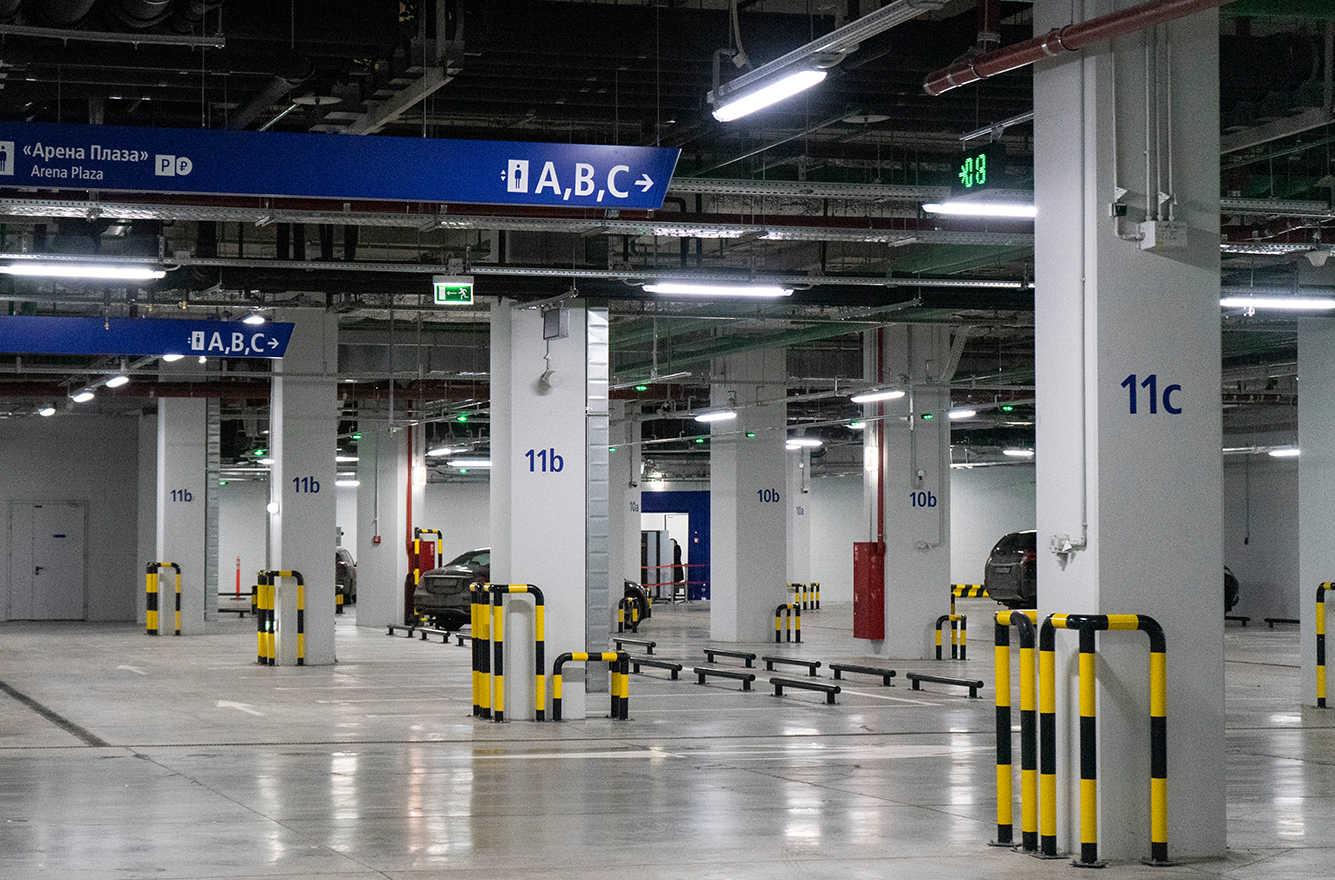 Парковка на стадионе