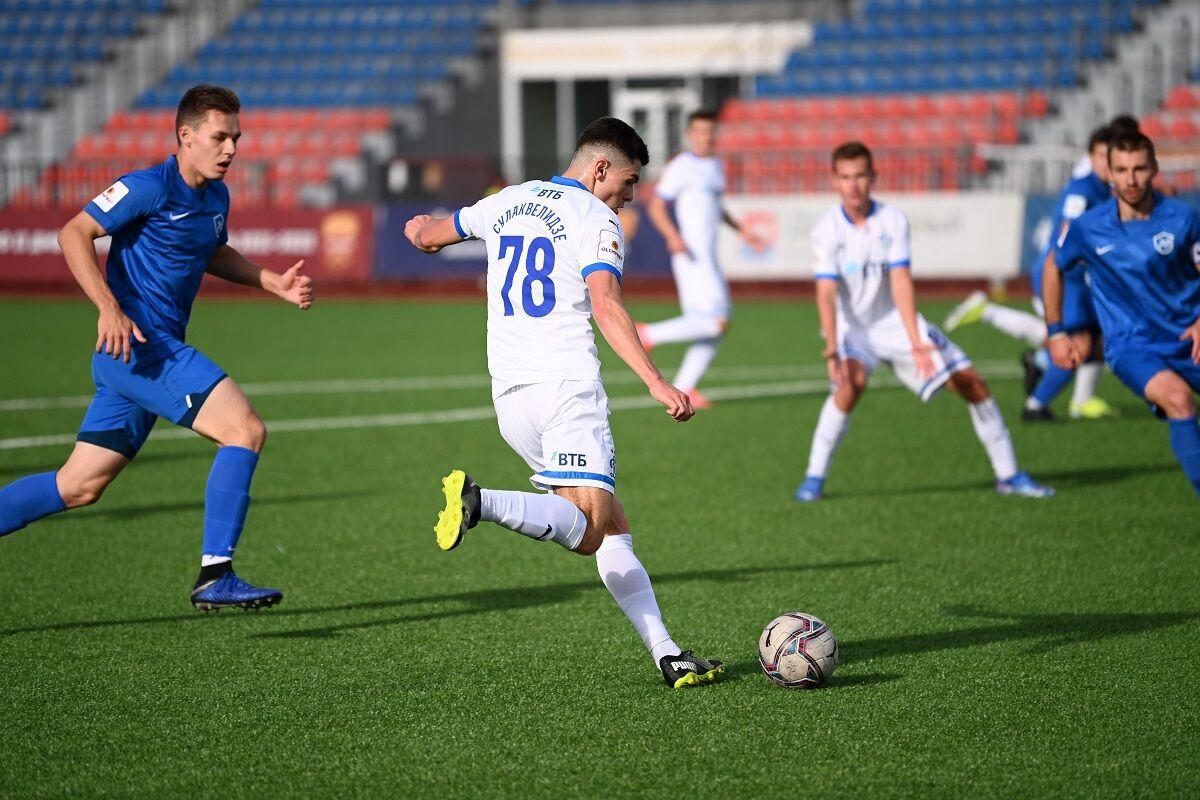 Футболисты «Динамо-2» сыграли вничью со второй командой «Олимп-Долгопрудного»
