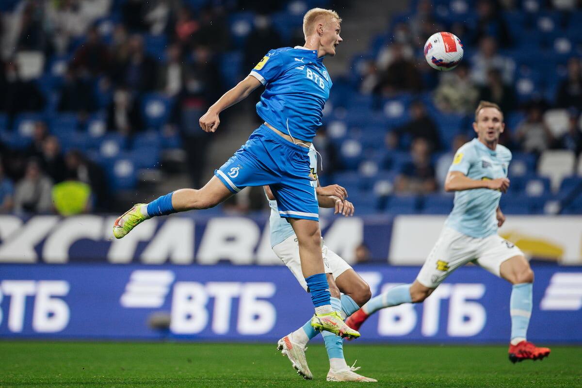 Динамовцы уступили «Нижнему Новгороду»