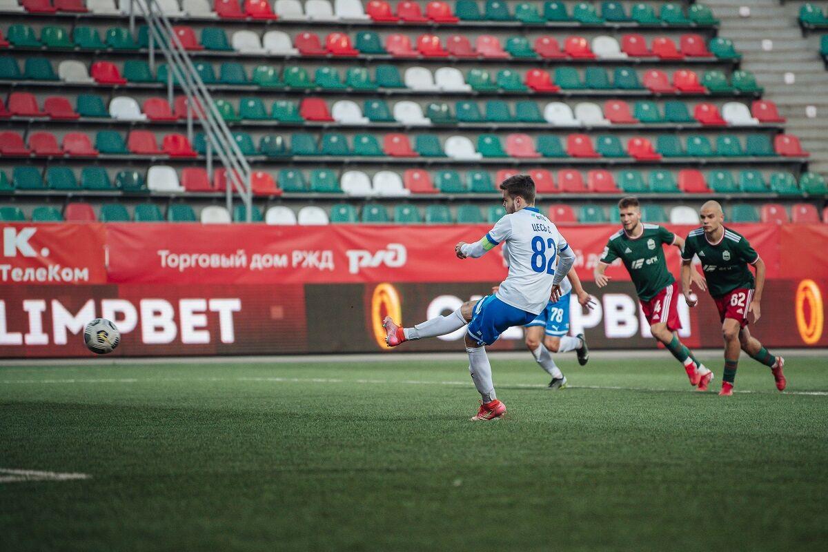 Футболисты «Динамо-2» сыграли вничью с «Локомотивом-Казанкой»