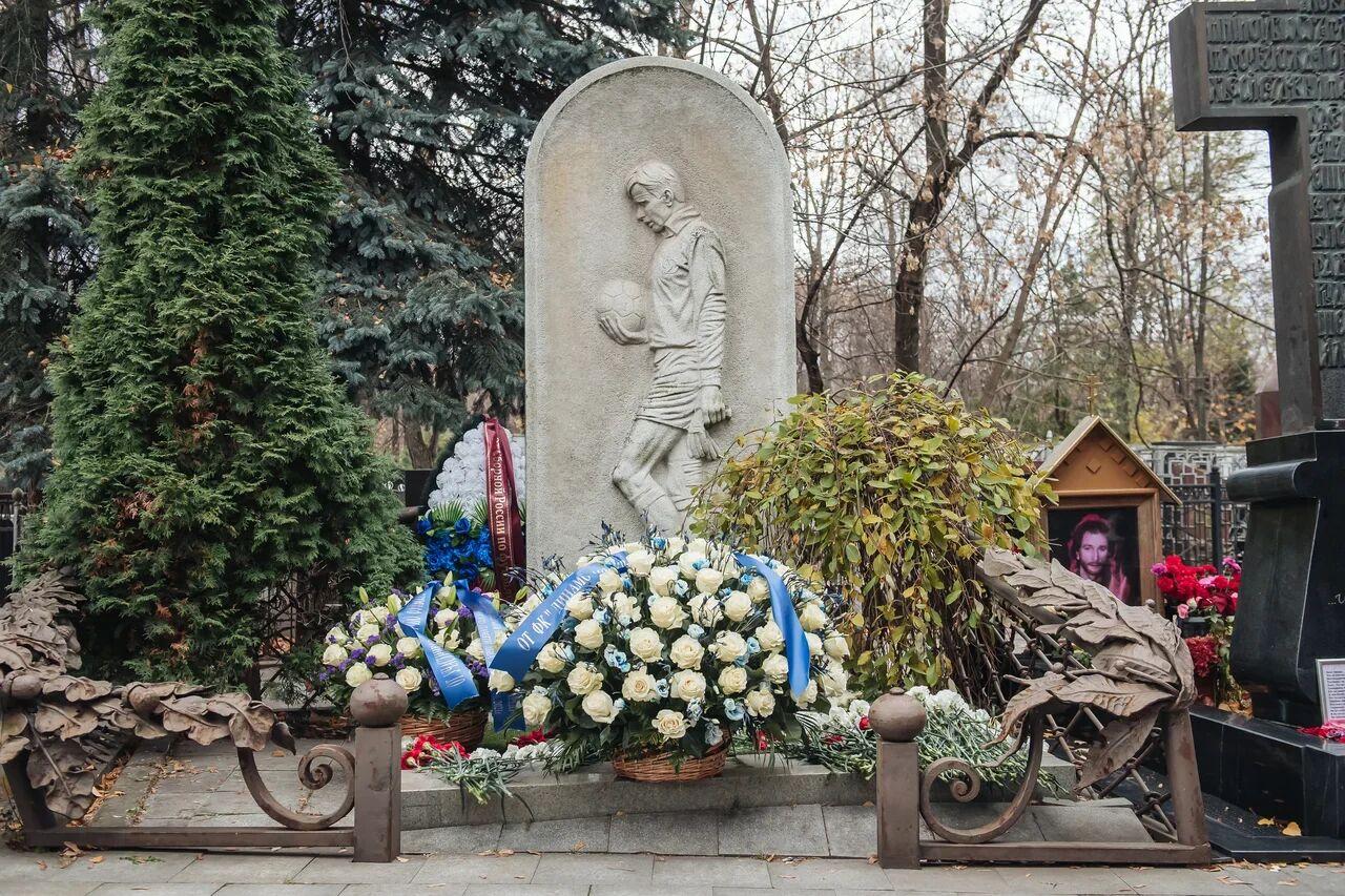Динамовцы почтили память Льва Яшина